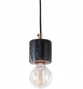 Подвесной светильник мраморный Calpac 11X7X7 CM черный