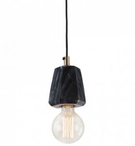 Подвесной светильник мраморный Bunt 12X9X9 CM черный