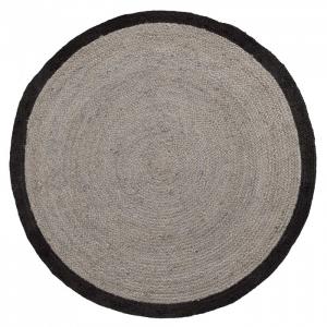 Ковёр черно-серый Samy Ø150 CM