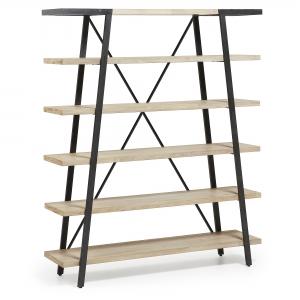 Деревянный стеллаж Disset 150X40X180 CM