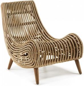 Кресло из ротанга Tika 78X74X94 CM