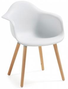 Кресло Kenna 62X61X81 CM белый пластик