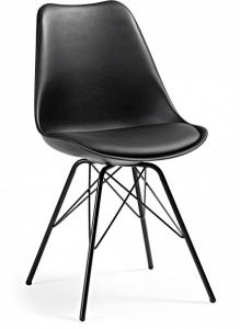 Стильный стул Lars 86X48X56 CM черный