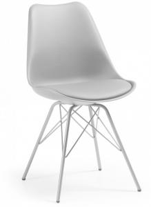 Стильный стул Lars 86X48X56 CM серый