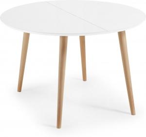 Раздвижной круглый стол Oakland 120-200X120X74 CM