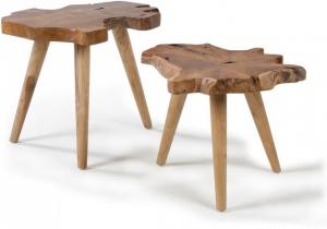 Набор столиков Hattie 51X60X50 / 43X50X46 CM