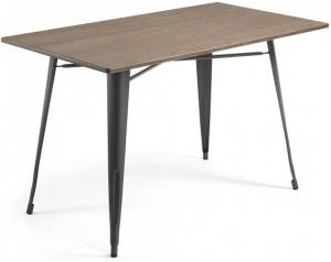 Стол Malibu 150X80X77 CM с черными ножками
