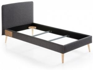 Кровать Lydia под матрас 190X90 CM черная