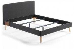 Кровать Lydia под матрас 200X160 CM черная