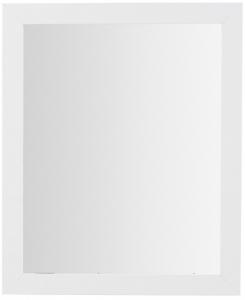 Минималистское прямоугольное зеркало Junko 47X57 CM белое
