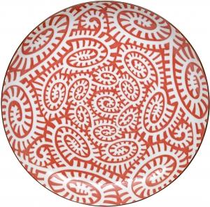 Тарелка Karakusa Red Ø22 CM