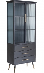 Шкаф-витрина La Gomera 72X38X182 CM