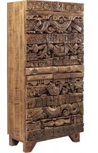 Шкаф в винтажном стиле Shanti Surprise 85X45X180 CM