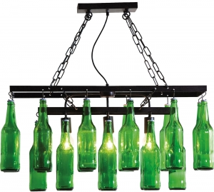 Подвесной светильник Beer Bottles 86X32X85 CM