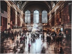 Постер на стекле Grand Central Station 160X120 CM