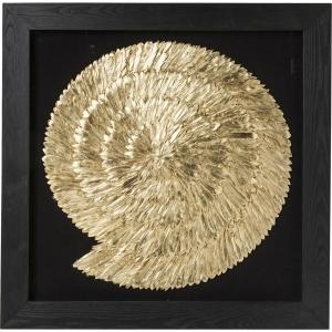Украшение настенное Golden Snail 120X120 CM