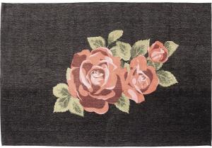 Ковёр из полиэфира и хлопка Roses 240X170 CM