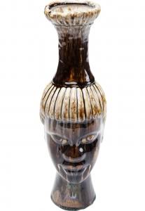 Декоративная ваза Visage 14X13X40 CM