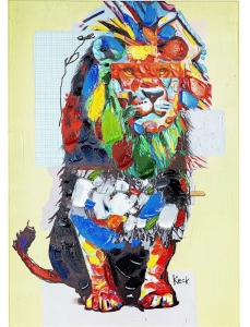 Картина Wildlife Lion 70X100 CM