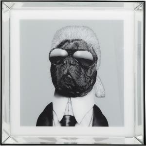 Постер в зеркальной раме Designer Dog 60X60 CM