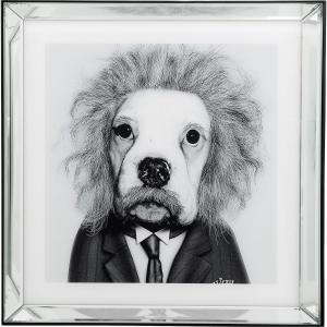 Постер в зеркальной раме Smart Dog 60X60 CM
