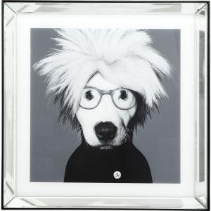 Постер в зеркальной раме Artist Dog 60X60 CM