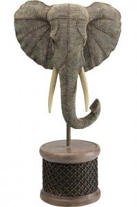 Декор Elephant Head Pearls 40X26X76 CM
