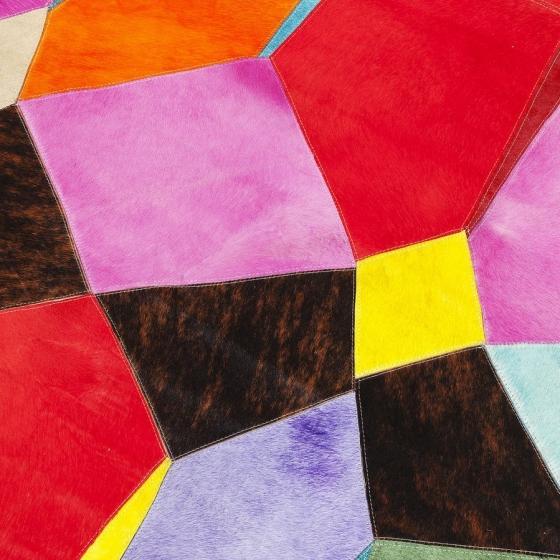 Ковёр из кожи Abstract 240X170 CM 4