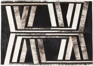 Кожаный ковёр Modern Inca 240X170 CM