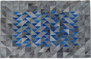 Кожаный ковёр Triangle Grau 240X170 CM