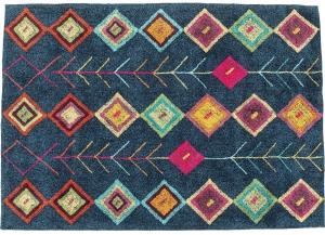 Ковёр хлопковый Berber Dunkelblau 240X170 CM