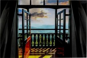 Постер на стеклянной основе Window Harmony 120X80 CM
