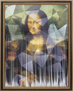 Картина Mademoiselle Lisa 130X16 CM