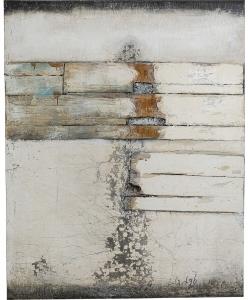 Фактурная картина Abstract grau Line Two 150X120 CM