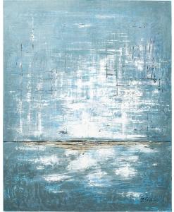 Картина Abstract Blau One 120X150 CM