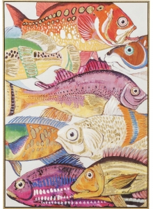 Картина Touched Fish Meeting One 100X70 CM