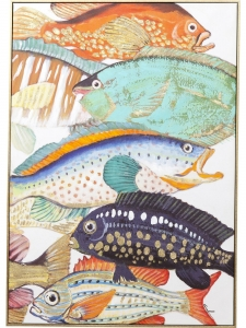 Картина Touched Fish Meeting Two 100X70 CM