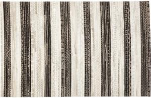 Ковёр из кожаных лоскутков Hieroglyphics 240X170 CM