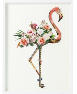 Коллаж в рамке Flamingo 75X100 CM