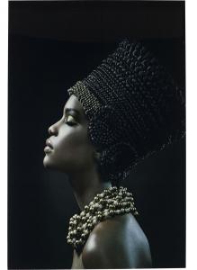 Постер на стекле Royal Headdress Profile 100X150 CM