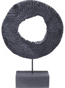 Декоративный элемент из манго Ring Of Fire 30X10X43 CM
