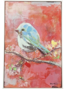 Картина Bird Red Back 42X62 CM