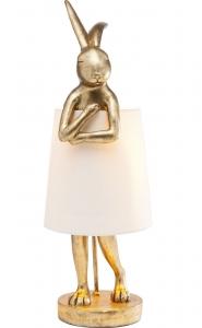 Лампа настольная Animal Rabbit Gold 23X23X68 CM