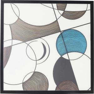 Постер Rahmen Wall Art Circles 90X90 CM