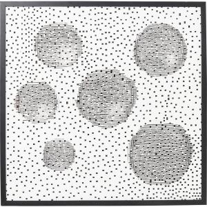 Постер Rahmen Wall Art Circles 100X100 CM