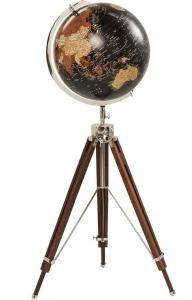Декоративный глобус на треноге Earth 61X61X141 CM