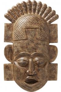 Украшение настенное African Mask 44X99 CM