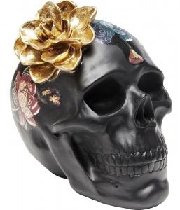 Декоративный элемент Flower Skull 24X17X22 CM