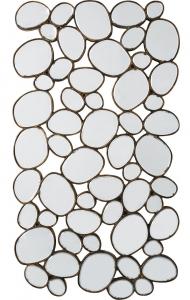 Зеркальное панно Water Drops 78X135 CM