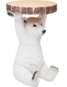 Столик приставной Animal Polar Bear 37X37X53 CM